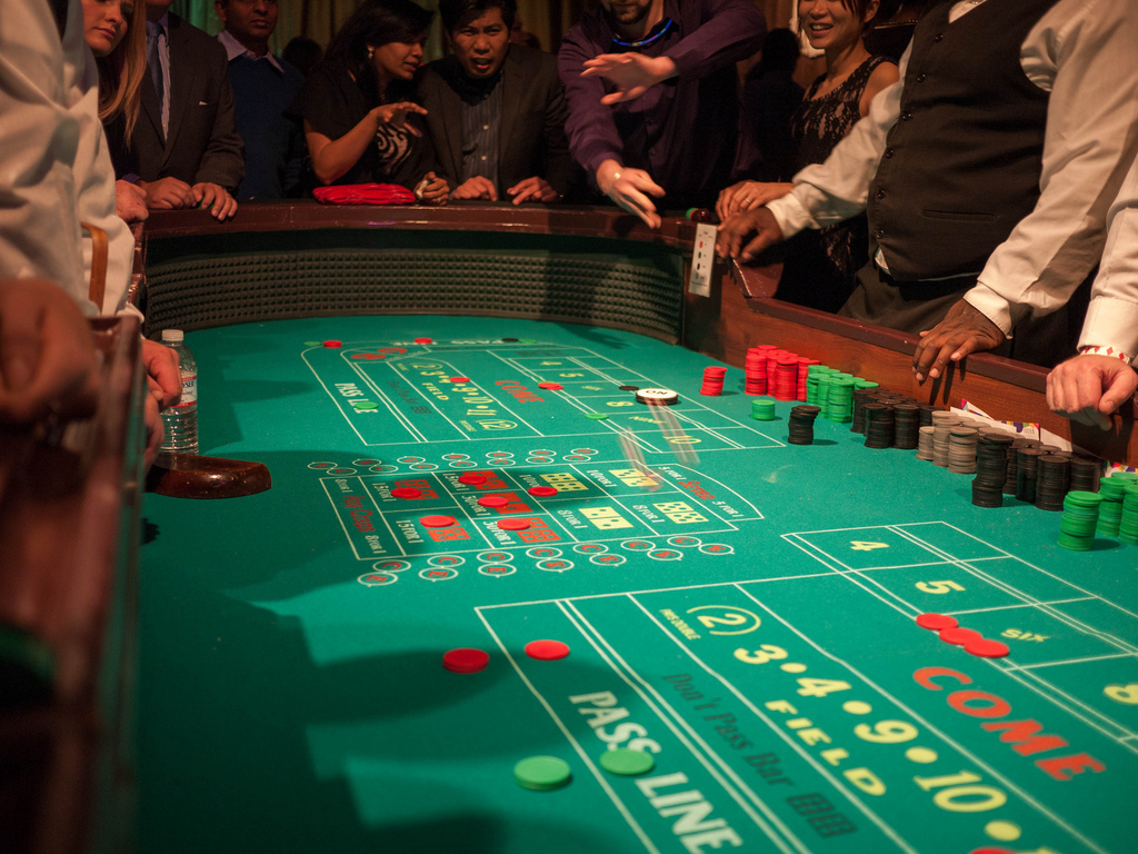 Craps kasiino mäng