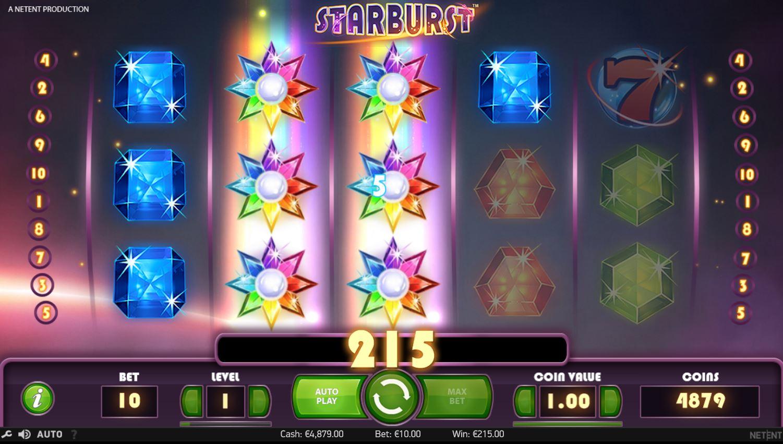 hasartmängud starburst
