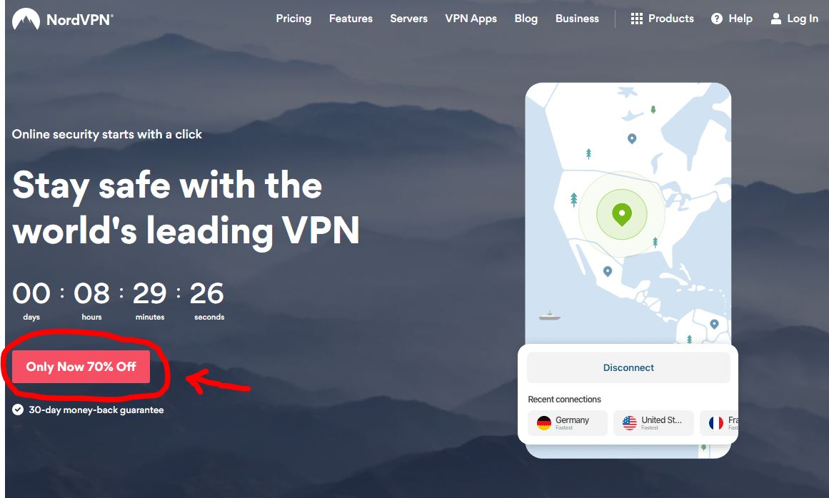 setting up nordvpn