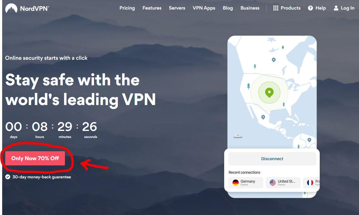 nordvpn VPN seadistamine