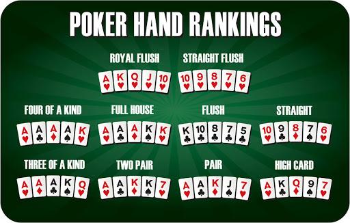 pokkeri käte tugevused