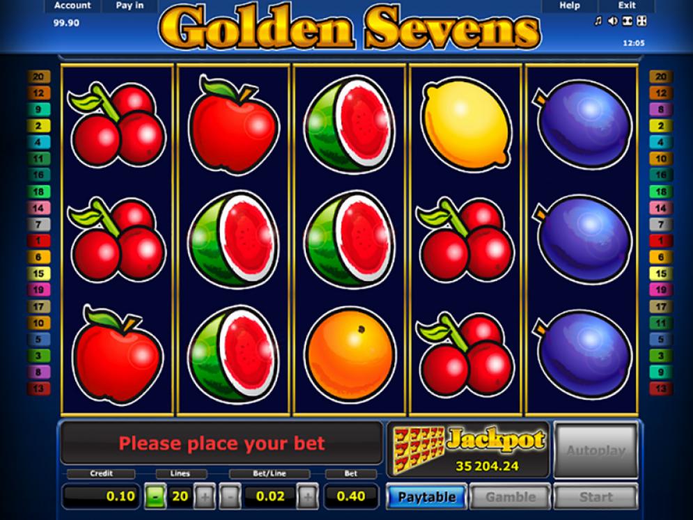 Golden Sevens automātu