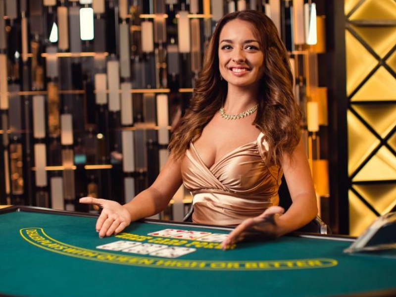 Beautiful live dealers make high stakes gambling more attractive
